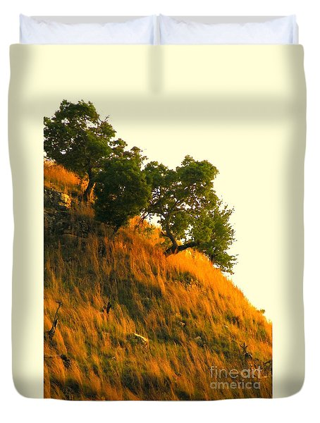 Duvet Cover featuring the photograph Coming Home Again by Joe Jake Pratt