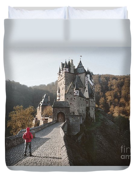Coming Home Duvet Cover by JR Photography