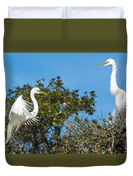 Coming Home Duvet Cover by Kenneth Albin