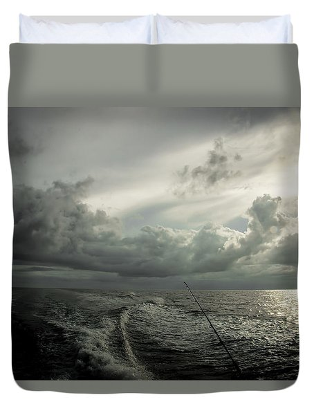 Coming Into Port Duvet Cover