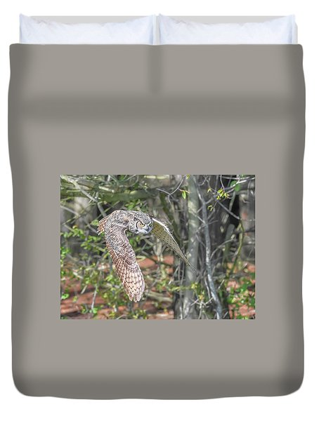 Coming Out Of The Woods Duvet Cover