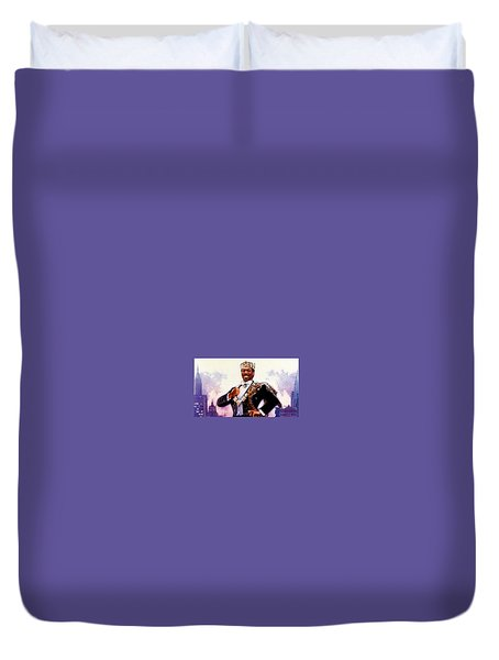 Coming To America Duvet Cover