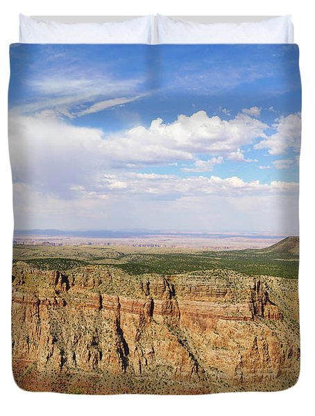 Coming To The End Duvet Cover