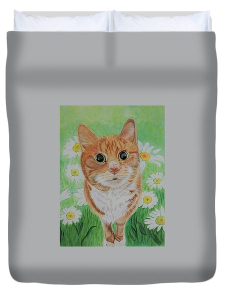 Coming Up Daisies Duvet Cover