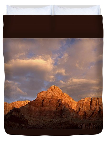 Commanche Point  Grand Canyon National Park Duvet Cover