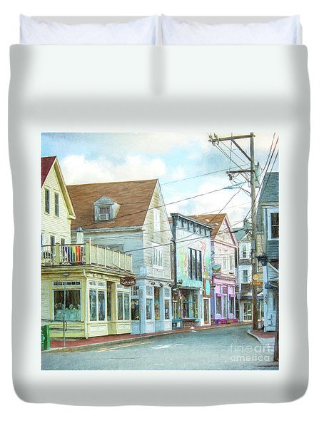 Commercial St #1 Duvet Cover