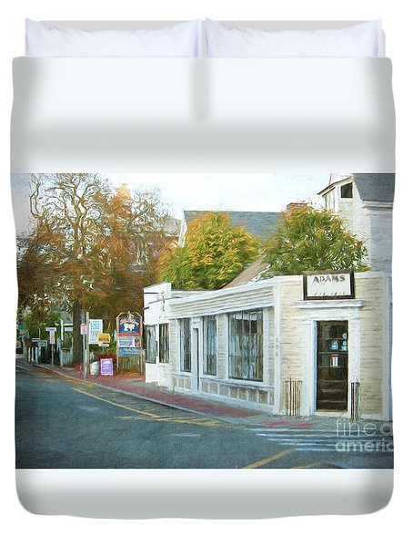 Commercial St. #2 Duvet Cover
