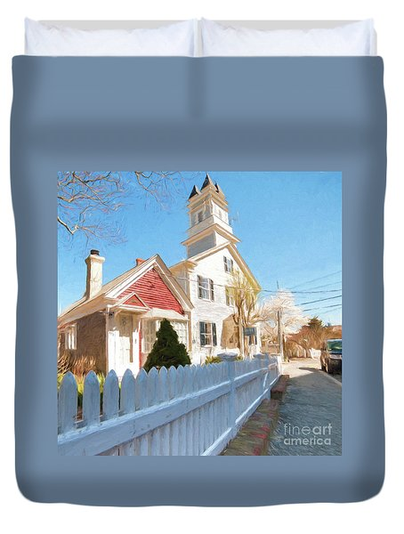 Commercial St. #3 Duvet Cover