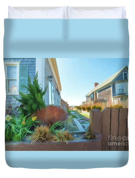 Commercial St. #4 Duvet Cover