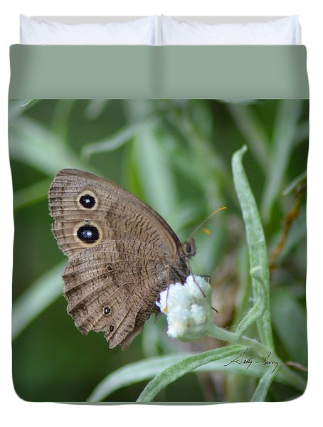 Common Wood Nymph Duvet Cover