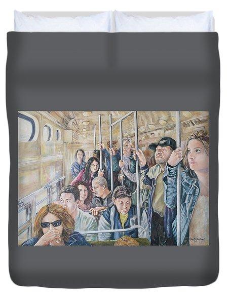 Commuters Duvet Cover