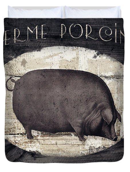 Compagne II Pig Farm Duvet Cover