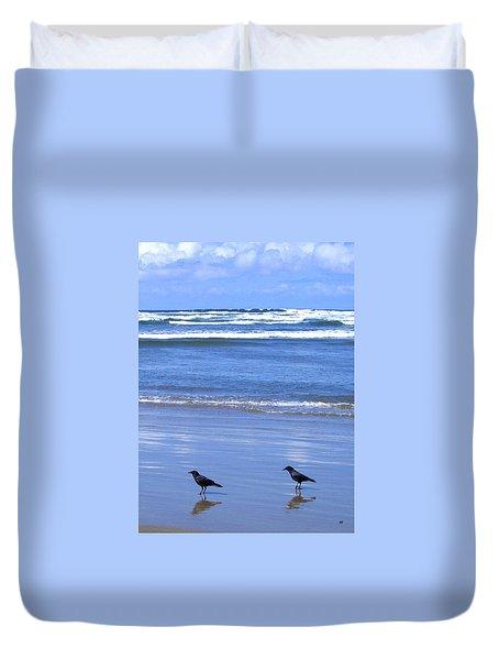 Companion Crows Duvet Cover