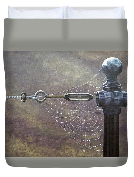 Comparative Engineering Duvet Cover