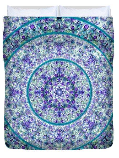 Compass Point Kaleidoscope 1 Duvet Cover
