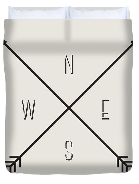 Compass Duvet Cover