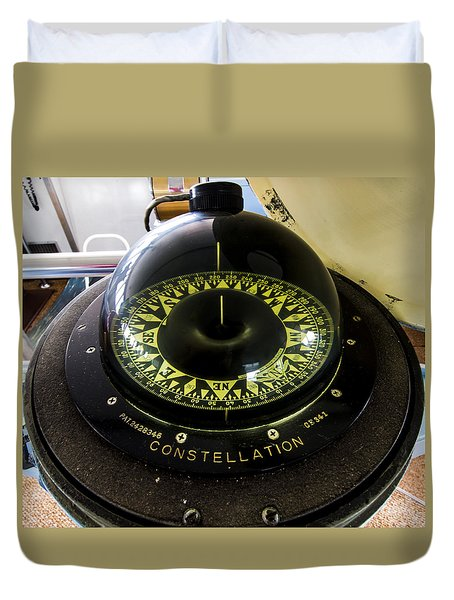 Compass Duvet Cover