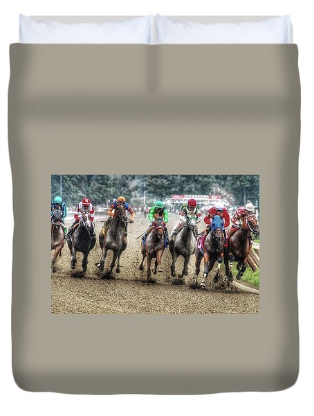 Competition Duvet Cover