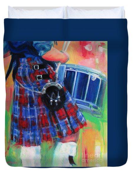 Competition Socks Duvet Cover
