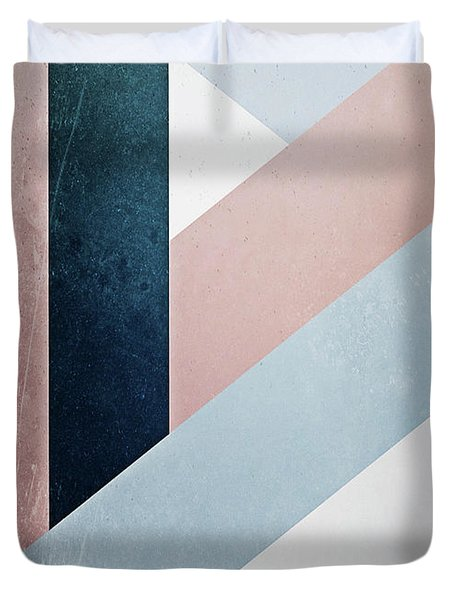 Complex Triangle Duvet Cover