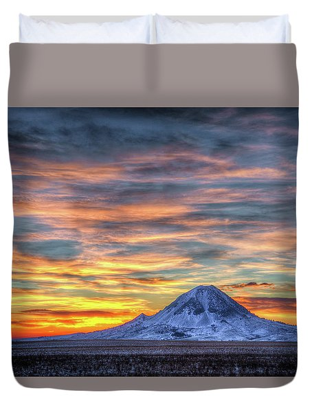 Complicated Sunrise Duvet Cover