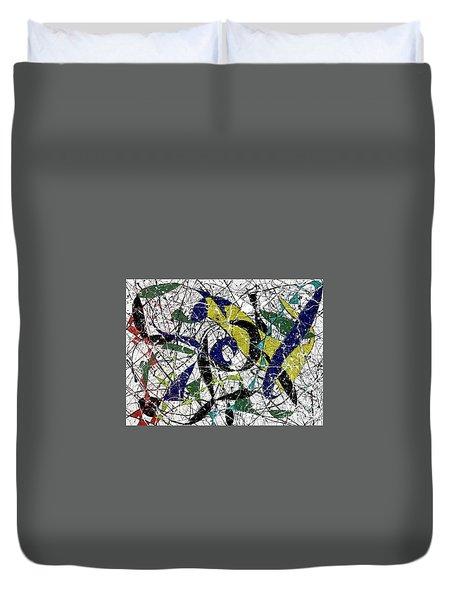 Composition #19 Duvet Cover