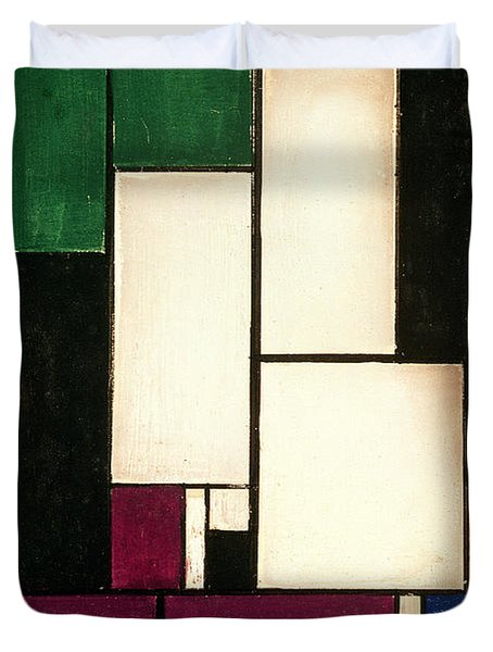 Composition Duvet Cover by Theo van Doesburg