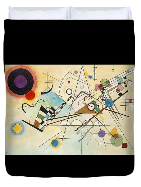 Composition Viii Duvet Cover