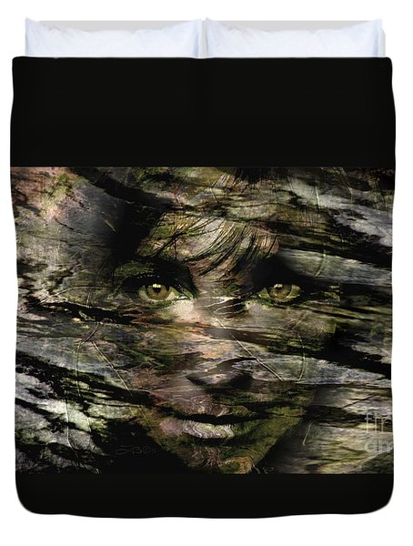 Concealed Emotions Duvet Cover by Tlynn Brentnall