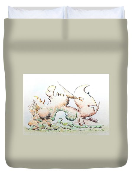 Concerns Duvet Cover