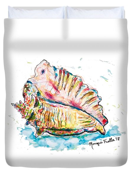 Conch Shell Duvet Cover