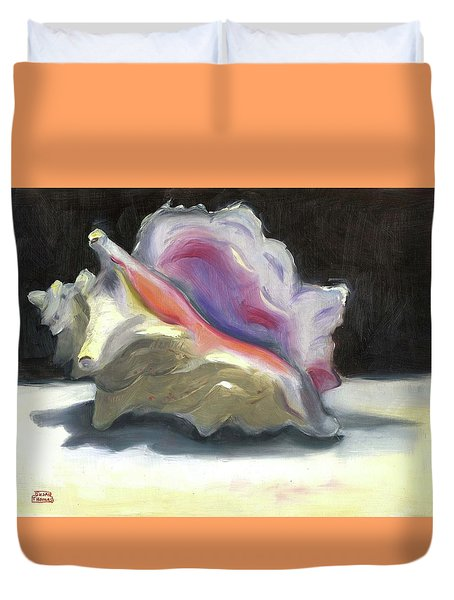 Conch Shell Duvet Cover
