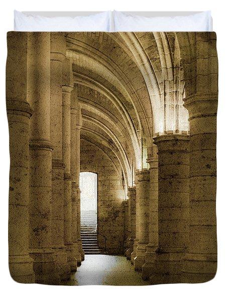 Paris, France - Conciergerie - Exit Duvet Cover
