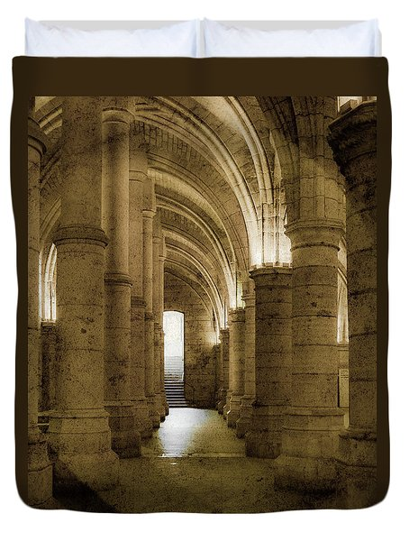 Paris, France - Conciergerie - Exit Duvet Cover