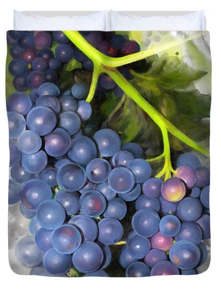 Concord Grape Duvet Cover