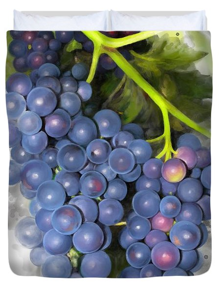 Concord Grape Duvet Cover