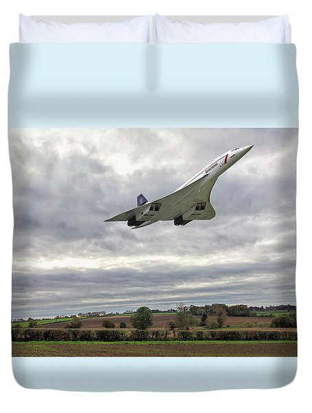Concorde - High Speed Pass_2 Duvet Cover