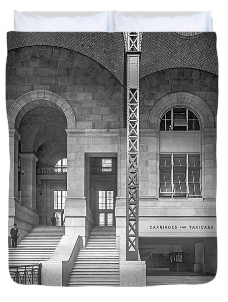 Concourse Exit To 33rd St Duvet Cover