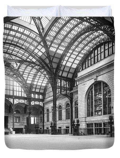 Concourse Pennsylvania Station New York Duvet Cover