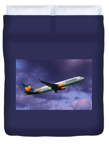 Condor Boeing 767-3q8 Duvet Cover