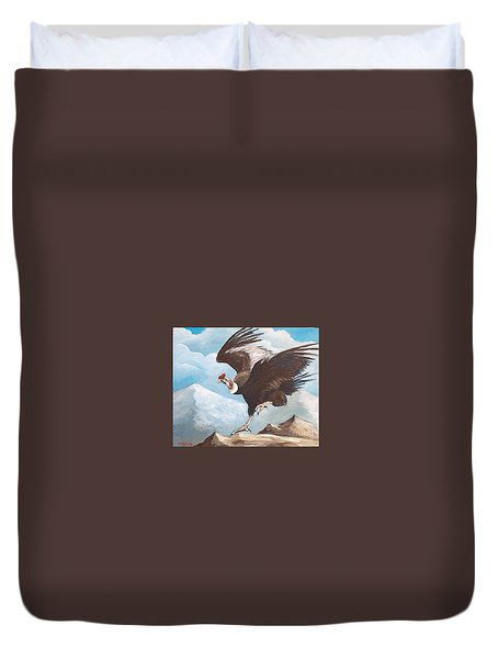 Condor Duvet Cover