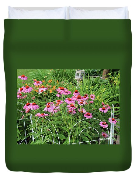 Cone Plants Duvet Cover