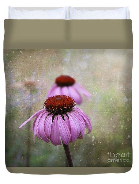 Coneflower Dream Duvet Cover by Nina Silver