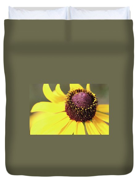 Coneflower Duvet Cover by Paul Drewry