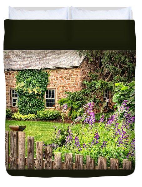 Conestoga Garden  Duvet Cover