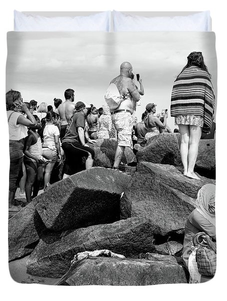 Coney Island, New York  #234972 Duvet Cover