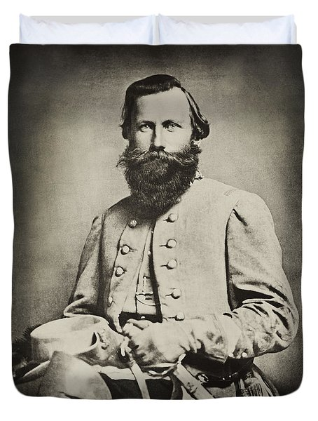 Confederate Jeb Stuart Duvet Cover by Paul W Faust -  Impressions of Light