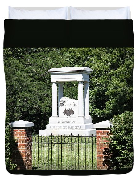 Confederate Memorial State Historic Park Duvet Cover