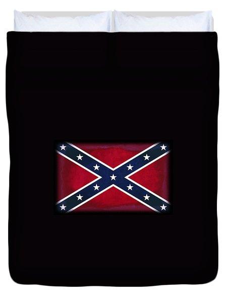 Confederate Rebel Battle Flag Duvet Cover