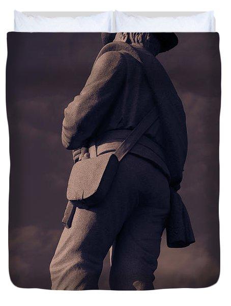 Confederate Statue Duvet Cover